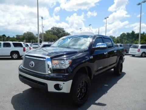 Black 2012 Toyota Tundra Limited CrewMax 4x4