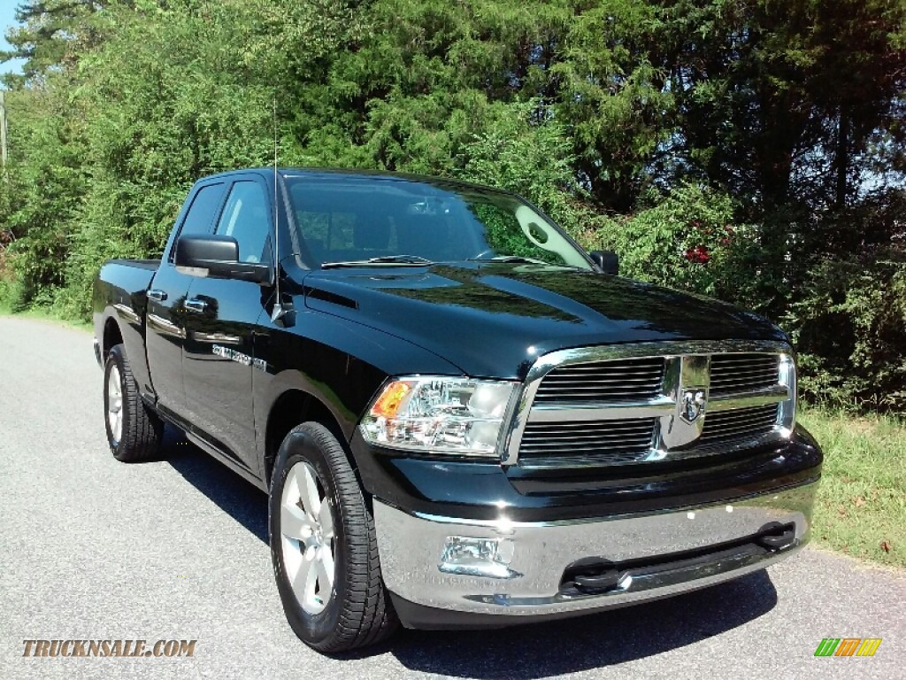 2012 dodge ram 1500 big horn quad cab 4x4 in black photo for Steve white motors inc