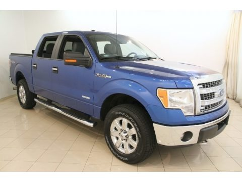 Blue Flame Metallic 2013 Ford F150 XLT SuperCrew 4x4