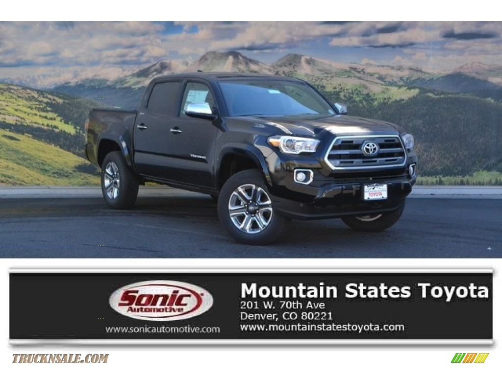 2017 Toyota Tacoma Limited Double Cab 4x4 in Black ...