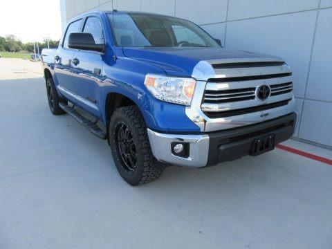 Blazing Blue Pearl 2017 Toyota Tundra SR5 Double Cab