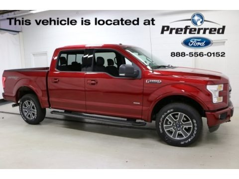 Ruby Red 2016 Ford F150 XLT SuperCrew 4x4