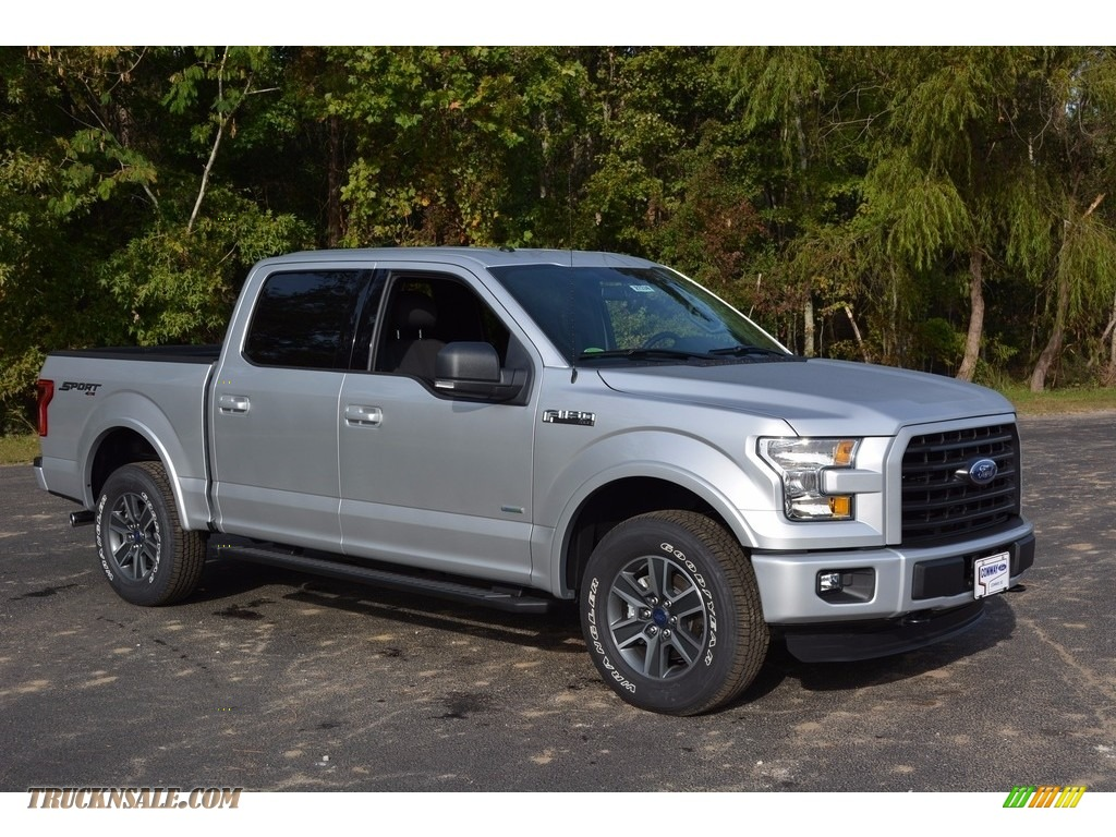 2016 ford f150 xlt supercrew 4x4 in ingot silver d31376 truck n 39 sale. Black Bedroom Furniture Sets. Home Design Ideas