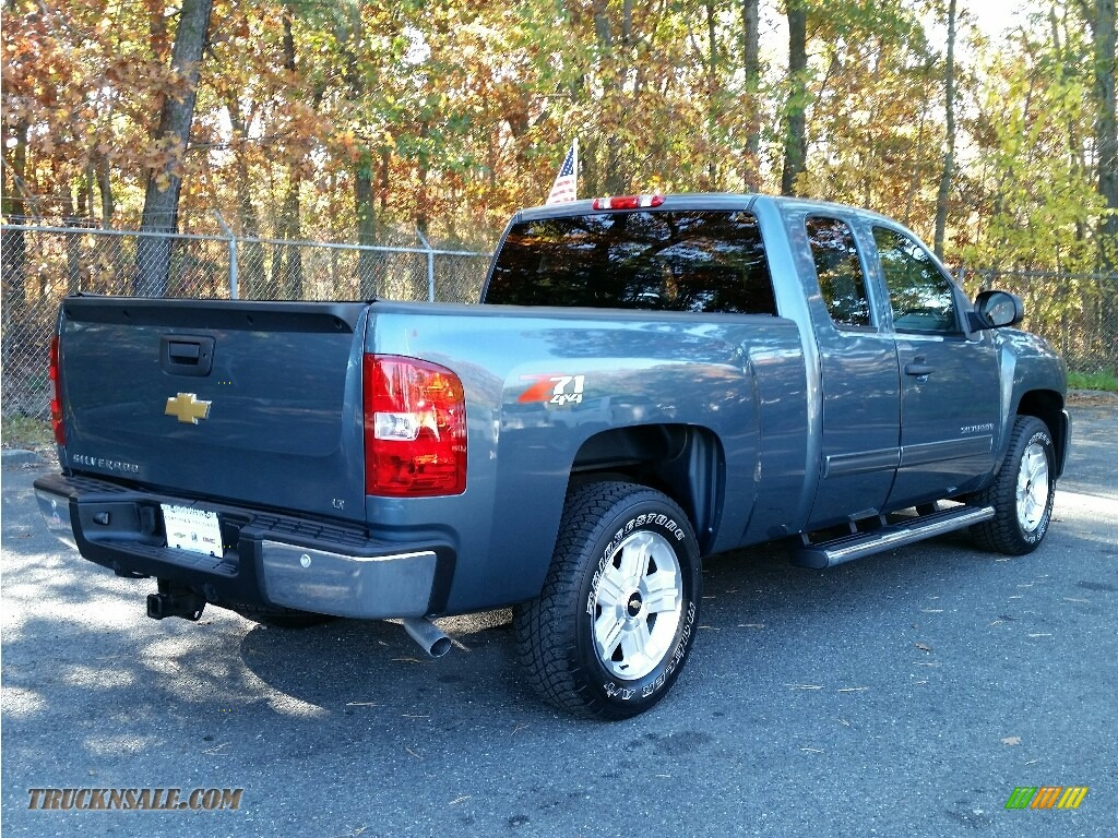 2013 chevrolet silverado 1500 lt extended cab 4x4 in blue granite metallic photo 7 273321. Black Bedroom Furniture Sets. Home Design Ideas