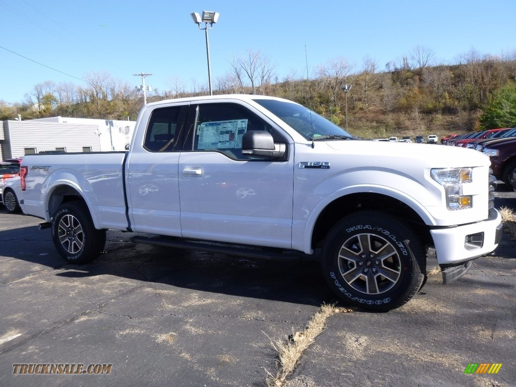 ford  xlt supercab   oxford white  truck  sale