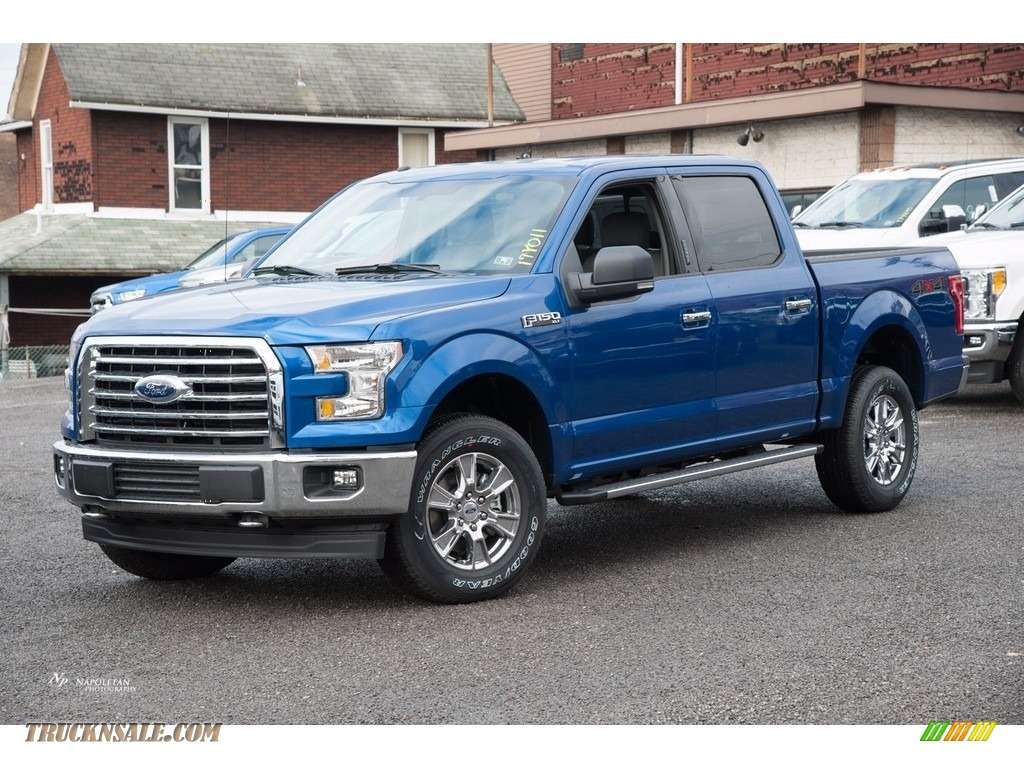2017 F150 Xlt Supercrew 4x4 Lightning Blue Earth Gray Photo 1