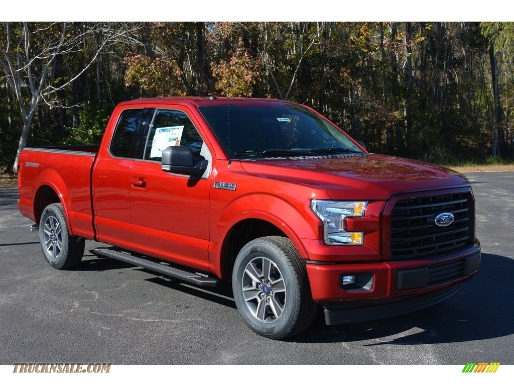 2017 F150 Xlt Supercrew Ruby Red Black Photo 1
