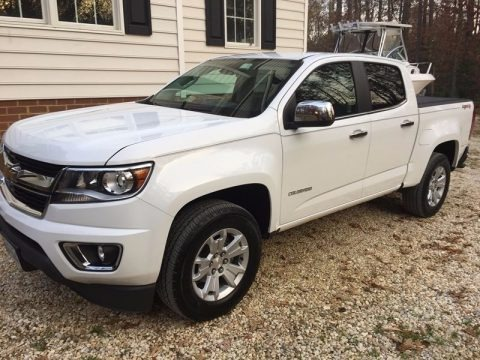 Summit White 2016 Chevrolet Colorado LT Crew Cab 4x4