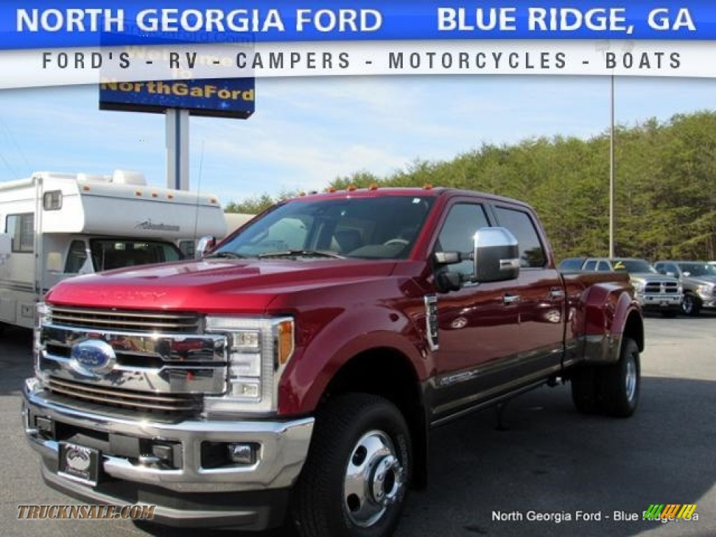2017 ford f350 super duty king ranch crew cab 4x4 in ruby red b44582 truck n 39 sale. Black Bedroom Furniture Sets. Home Design Ideas