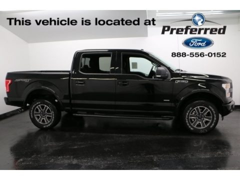 Shadow Black 2016 Ford F150 XLT SuperCrew 4x4