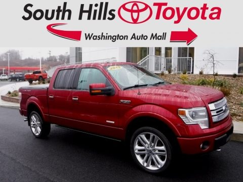 Ruby Red Metallic 2013 Ford F150 Limited SuperCrew 4x4