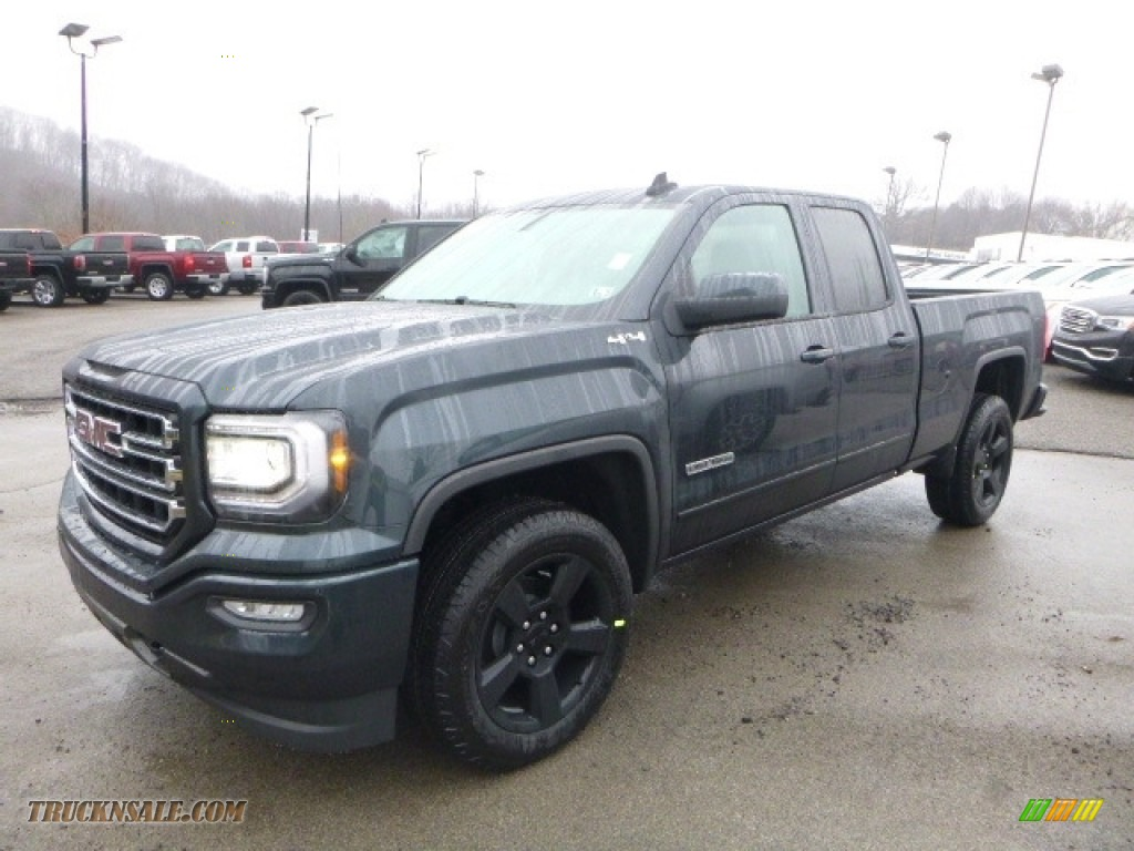 2017 GMC Sierra 1500 Elevation Edition Double Cab 4WD in Dark Slate Metallic - 201193 | Truck N ...