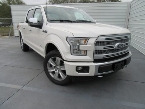 White Platinum 2017 Ford F150 Platinum SuperCrew 4x4