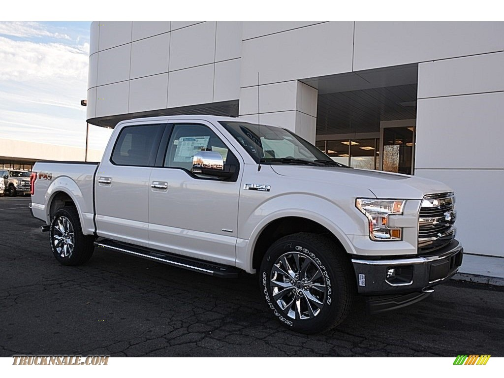 2017 ford f150 lariat supercrew 4x4 in white platinum a19596 truck n 39 sale. Black Bedroom Furniture Sets. Home Design Ideas