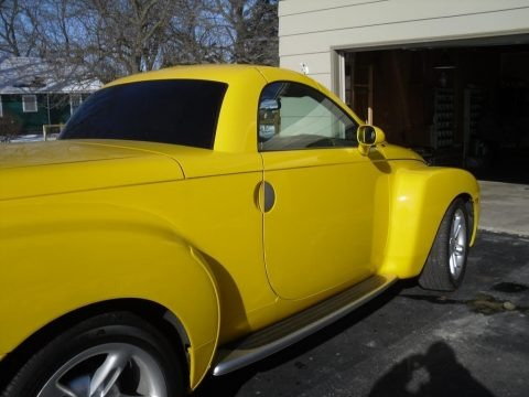 Slingshot Yellow 2004 Chevrolet SSR
