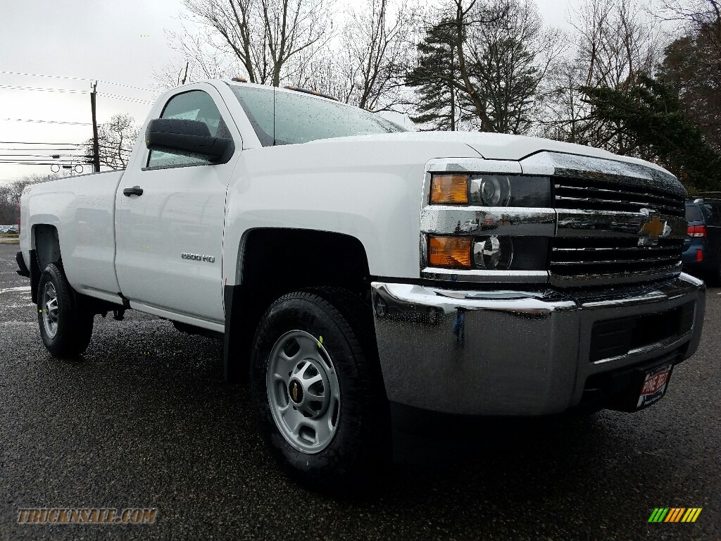 2017 chevrolet silverado 2500hd work truck regular cab 4x4 in summit white 225199 truck n 39 sale. Black Bedroom Furniture Sets. Home Design Ideas