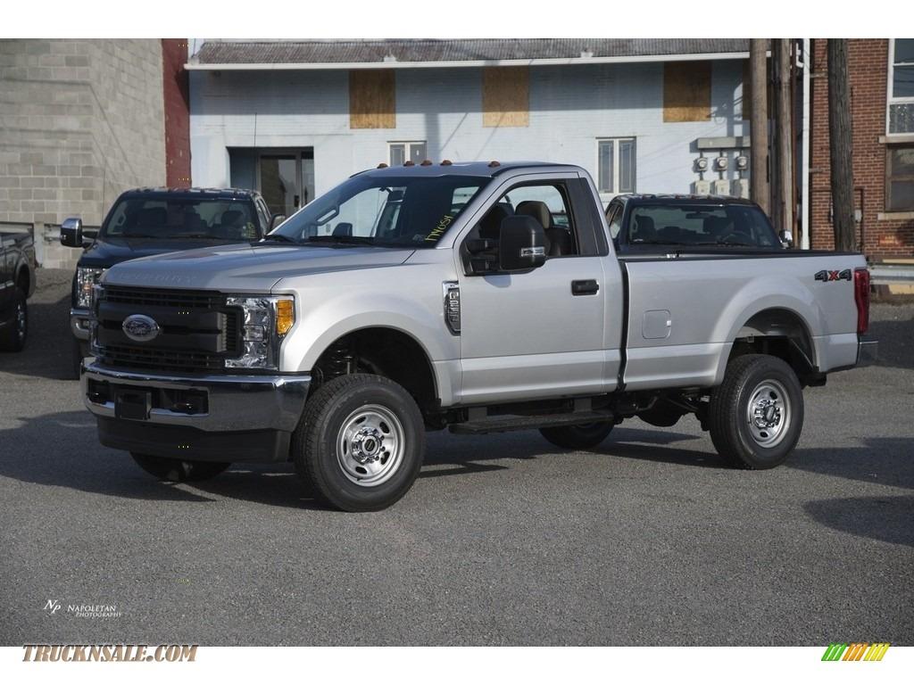 2017 ford f250 super duty xl regular cab 4x4 in ingot silver c75474 truck n 39 sale. Black Bedroom Furniture Sets. Home Design Ideas