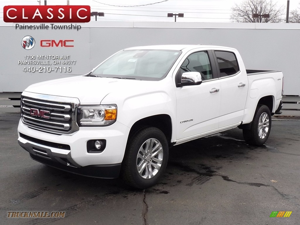 2017 GMC Canyon SLT Crew Cab 4x4 in Summit White - 164072 ...