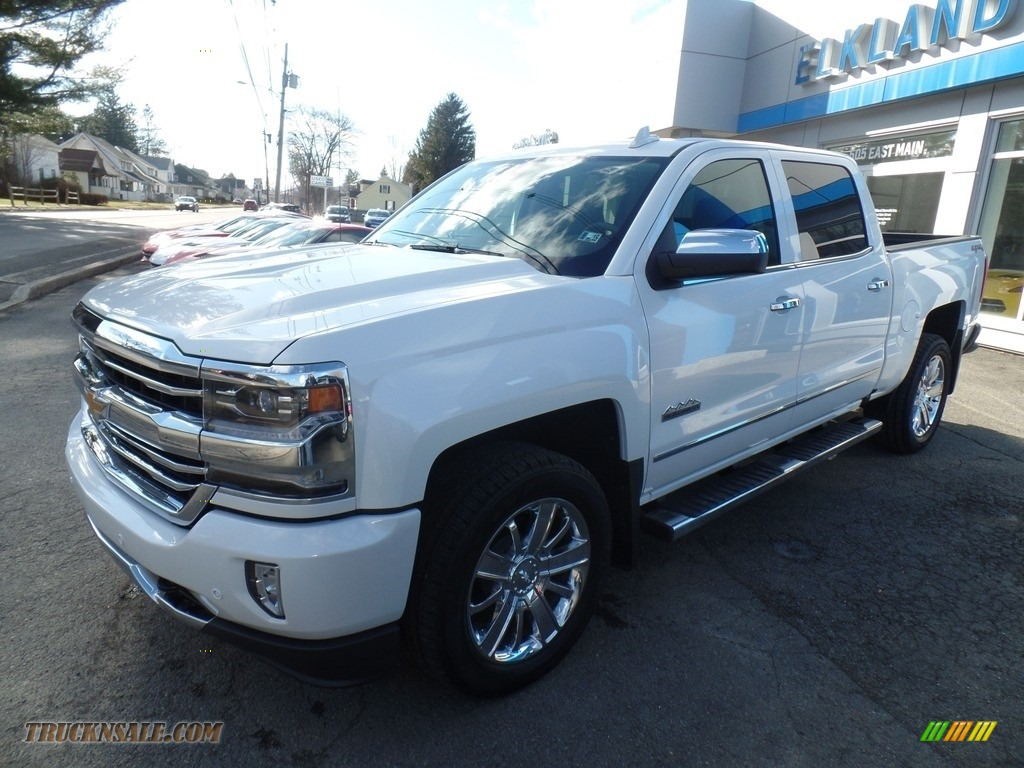 2017 chevrolet silverado 1500 high country crew cab 4x4 in iridescent pearl tricoat 302097. Black Bedroom Furniture Sets. Home Design Ideas