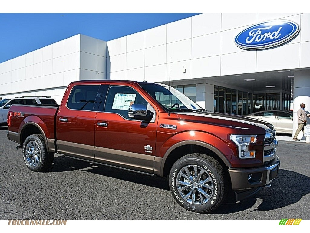2017 ford f150 king ranch supercrew 4x4 in bronze fire a30956 truck n 39 sale. Black Bedroom Furniture Sets. Home Design Ideas