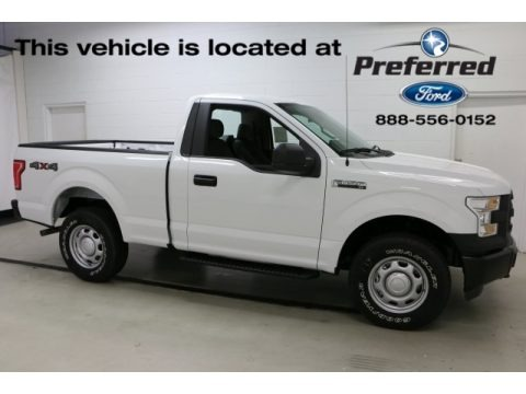Oxford White 2016 Ford F150 XL Regular Cab 4x4