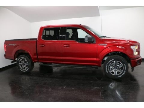 Ruby Red 2017 Ford F150 XLT SuperCrew 4x4