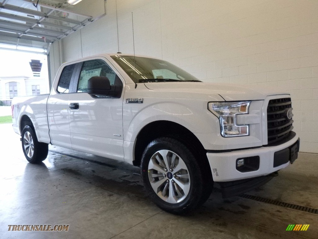2017 ford f150 xl supercab 4x4 in oxford white s63678 truck n 39 sale. Black Bedroom Furniture Sets. Home Design Ideas