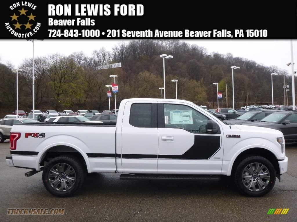 2017 ford f150 xlt supercab 4x4 in oxford white b64035. Black Bedroom Furniture Sets. Home Design Ideas