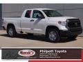 Toyota Tundra SR Double Cab 4x4 Super White photo #1