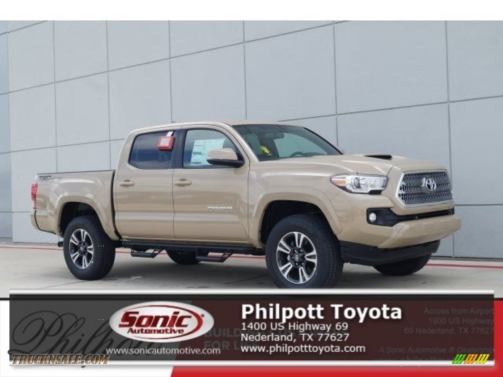 2017 Toyota Tacoma Trd Sport Double Cab In Quicksand