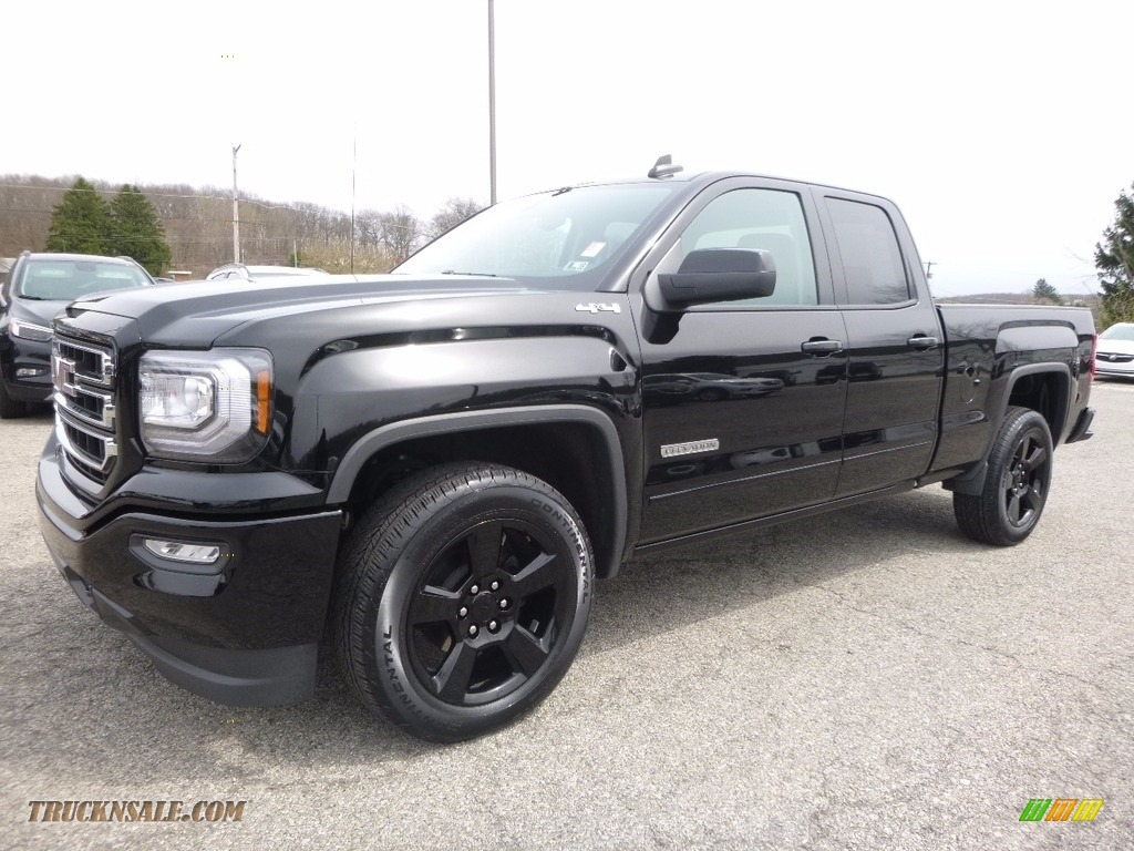 2017 gmc sierra 1500 elevation edition double cab 4wd in onyx black 126020 truck n 39 sale. Black Bedroom Furniture Sets. Home Design Ideas