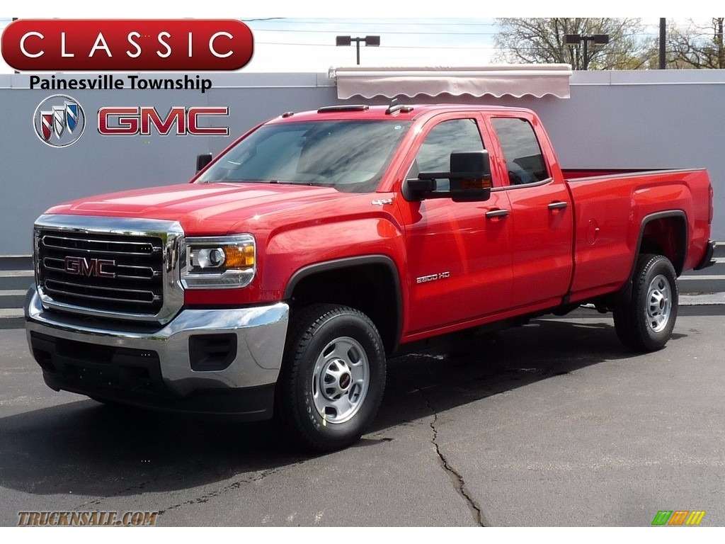 2017 GMC Sierra 2500HD Double Cab 4x4 in Cardinal Red ...