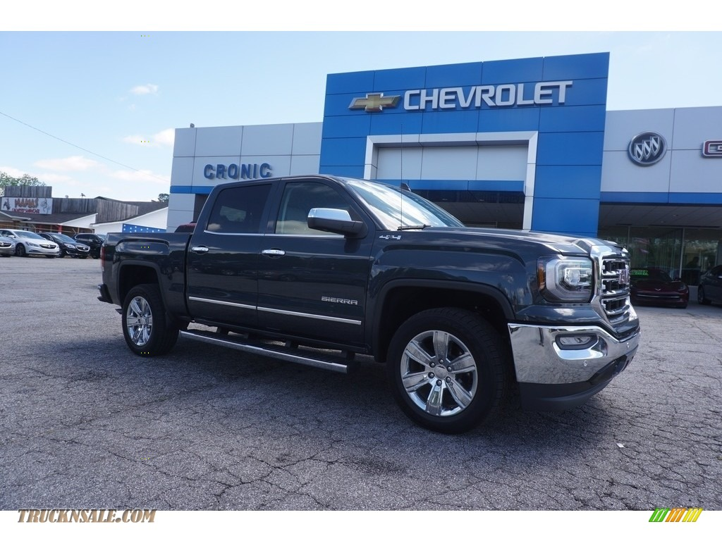 2017 gmc sierra 1500 slt crew cab 4wd in dark slate. Black Bedroom Furniture Sets. Home Design Ideas