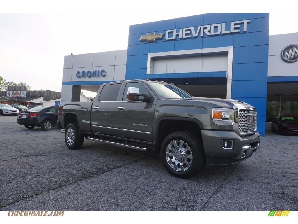 2017 gmc sierra 2500hd denali crew cab 4x4 in mineral metallic 152386 truck n 39 sale. Black Bedroom Furniture Sets. Home Design Ideas