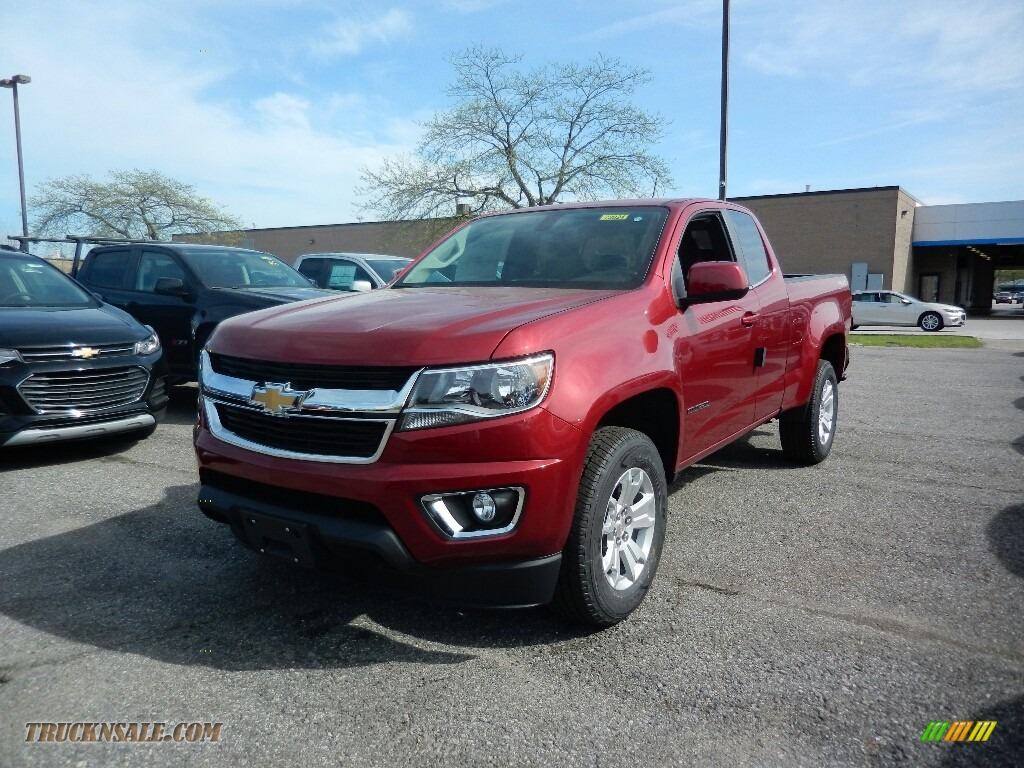 2017 chevrolet colorado lt extended cab 4x4 in cajun red tintcoat 236210 truck n 39 sale. Black Bedroom Furniture Sets. Home Design Ideas