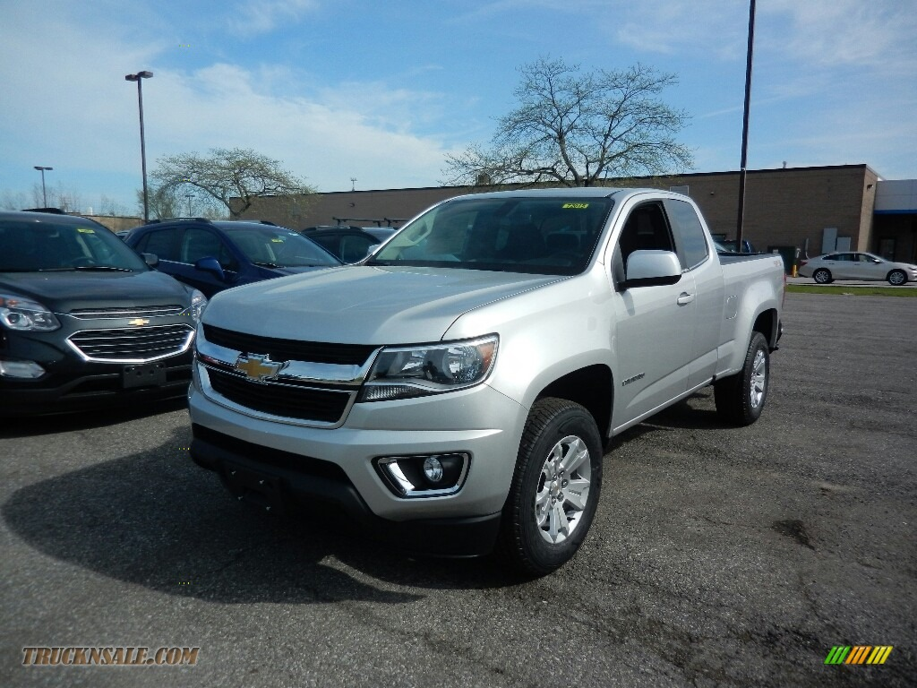 2017 chevrolet colorado lt extended cab 4x4 in silver ice metallic 233537 truck n 39 sale. Black Bedroom Furniture Sets. Home Design Ideas