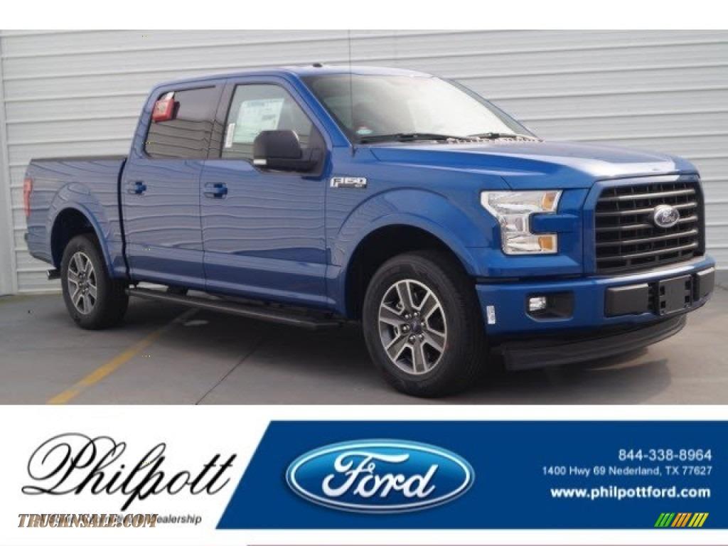2017 ford f150 xlt supercrew in lightning blue d41352 truck n 39 sale. Black Bedroom Furniture Sets. Home Design Ideas