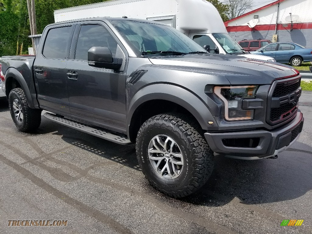 2017 ford f150 svt raptor supercrew 4x4 in magnetic b64455 truck n. Cars Review. Best American Auto & Cars Review