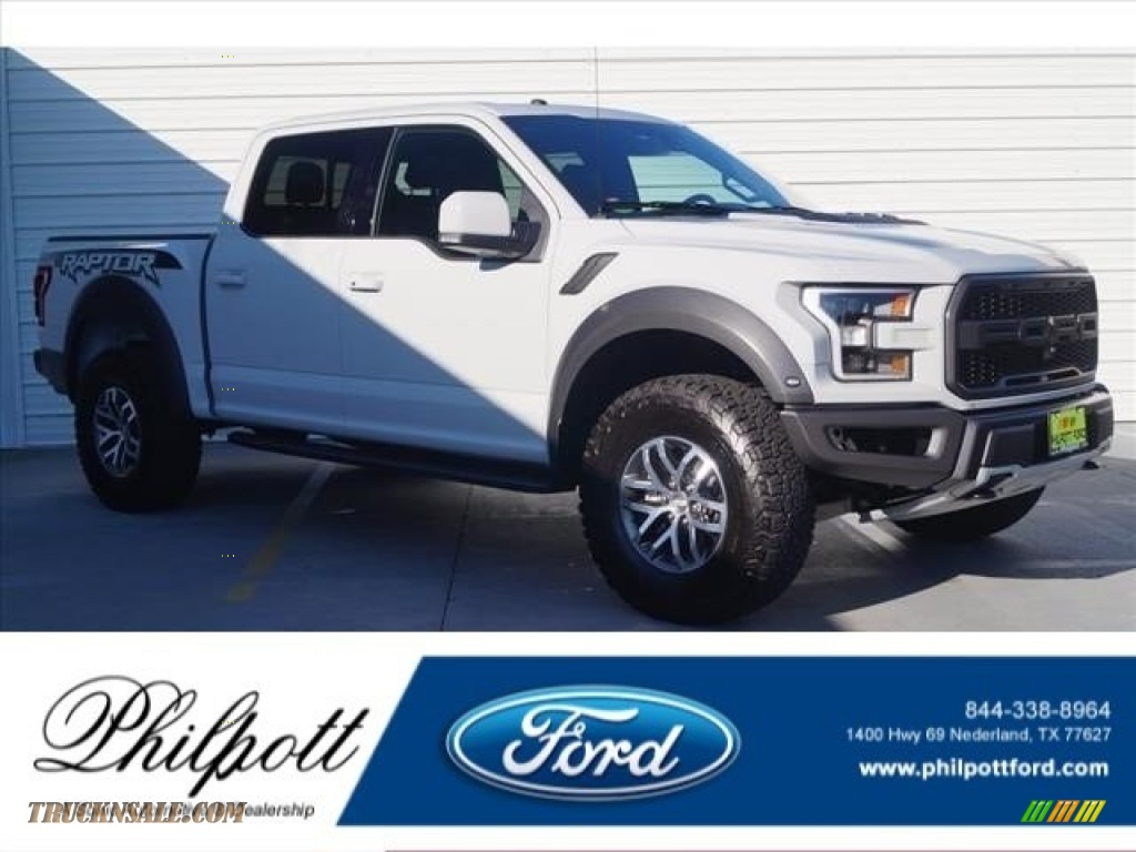 2017 Ford F150 Svt Raptor Supercrew 4x4 In Avalanche B36063 Truck N 39 Sale