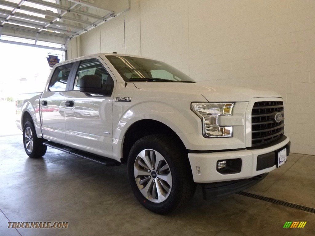 2017 ford f150 xl supercrew 4x4 in oxford white c12533 truck n 39 sale. Black Bedroom Furniture Sets. Home Design Ideas