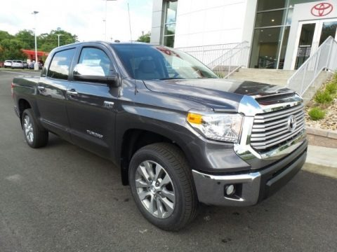 Magnetic Gray Metallic 2017 Toyota Tundra Limited CrewMax 4x4