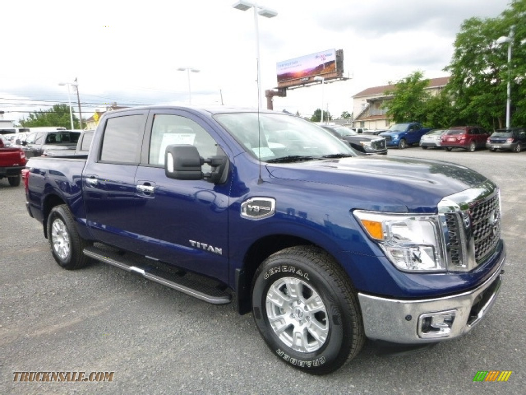 2017 Titan SV Crew Cab 4x4 - Deep Blue Pearl / Black photo #1