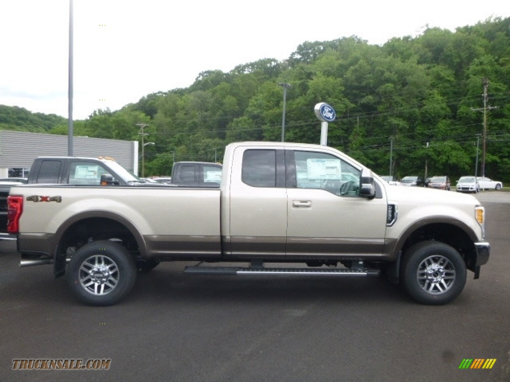 2017 Ford F250 Super Duty XLT SuperCab 4x4 in White Gold - D76703 | Truck N' Sale