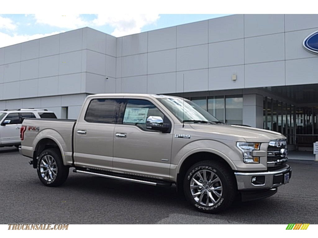 2017 Ford F150 Lariat Supercrew 4x4 In White Gold B85652