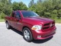 Dodge Ram 1500 ST Quad Cab Deep Cherry Red Crystal Pearl photo #4