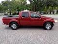 Nissan Frontier SE Crew Cab 4x4 Red Brawn photo #12
