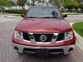 Nissan Frontier SE Crew Cab 4x4 Red Brawn photo #16