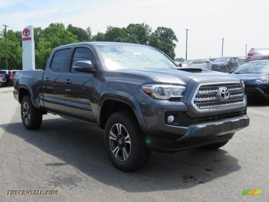 2017 Tacoma TRD Sport Double Cab 4x4 - Magnetic Gray Metallic / TRD Black/Orange photo #1