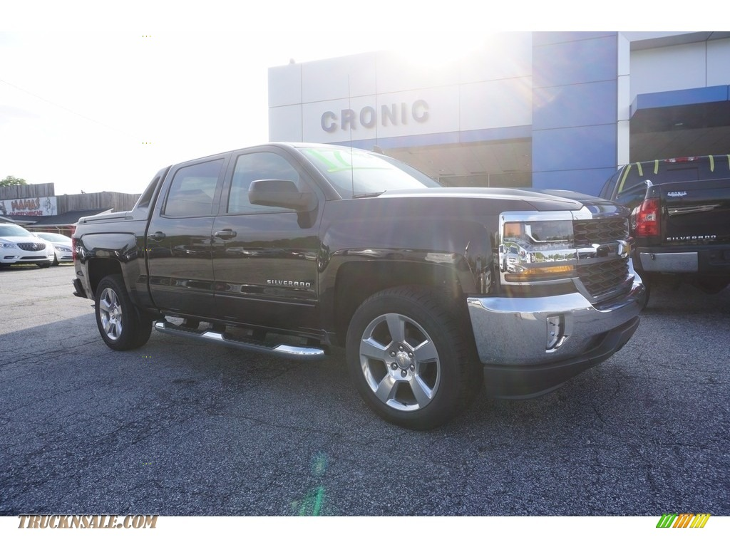 2017 Silverado 1500 LT Crew Cab - Black / Jet Black photo #1