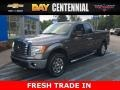 Ford F150 XLT SuperCab 4x4 Sterling Grey Metallic photo #1